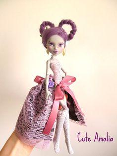 RESERVED  DEANNA Monster high doll  repaint by cuteamaliadolls, $93.00