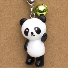 panda bear phone strap