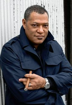 Laurence Fishburne - Cigar Smoker