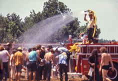 2nd Annual Atlanta Pop Festival, 1970   cooling off