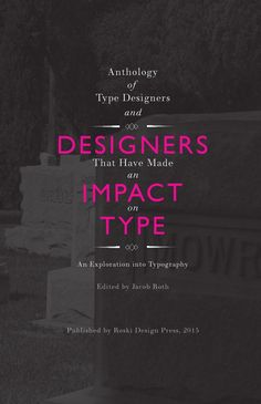 Jacob Roth   An Exploration into Typography