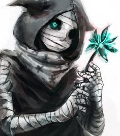 Image via We Heart It https://weheartit.com/entry/127086886/via/23651943 #anime #bandages #cute #eyes #flower #horror #manga #eto #tokyoghoul #東京喰種 #pixivmember:くろすけ #pixivid1163074 #takatsukisen
