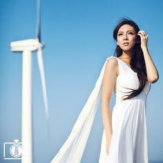 Goddess   Photo by KEHO Photography #hongkong See more of his conceptual wedding portraitures on www.OneThreeOneFour.com