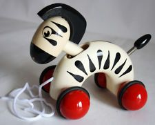 Kouvalias wooden pull toy.
