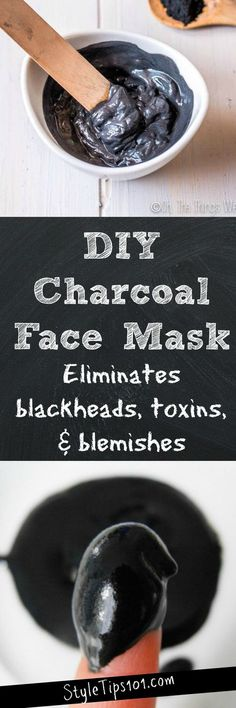 Homemade Charcoal Face Mask
