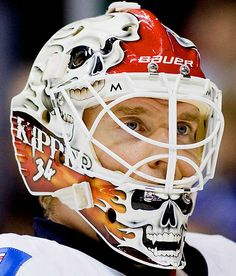NHL Goalie Masks By Team | NHL Goalie Masks by Team (2009-10) - Miikka Kiprusoff | Sports ...