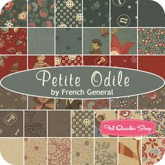 Petite Odile Jelly Roll French General for Moda Fabrics - Fat Quarter Shop