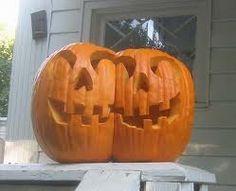 Conjoined Twin Pumpkin
