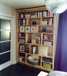 Bibliothèque Bookcase, Shelves, Home Decor, Furniture, Shelving, Homemade Home Decor, Shelf, Open Shelving, Decoration Home