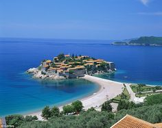 Sveti Stefan, Montenegro. Maybe this summer.
