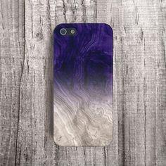 PURPLE Phone Case Wood Print iPhone 4 Case Wood by casesbycsera, $19.99