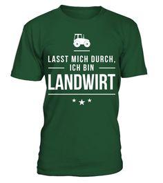 T shirt  Ich bin Landwirt  fashion trend 2018 #tshirt, #tshirtfashion, #fashion