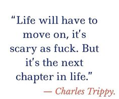 A quote from the amazing Charles Trippy