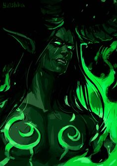 Illidan by Yioshka on DeviantArt Warcraft Art, World Of Warcraft, Fantasy Character Design, Character Drawing, Winter Veil, Illidan Stormrage, Demon Hunter, Hunter King, Rainbow Photo