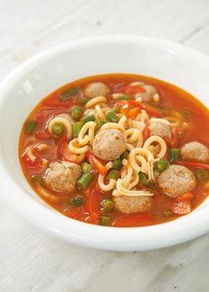 Tomaten-Nudelsuppe Rezept - [ESSEN UND TRINKEN]