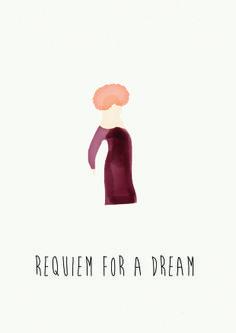 Requiem For a Dream Fan Poster Requiem For A Dream, Fan Poster, Movie Posters, Movies, Films, Film Poster, Cinema, Movie, Film