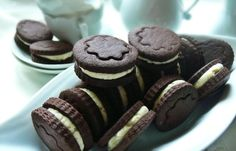 Oreo keksz házilag #forD Naan, Sweet Desserts, Oreo, Caramel, Recipies, Vanilla, Cooking Recipes, Sweets, Cookies