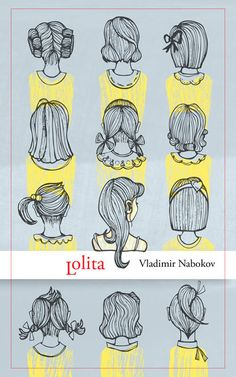 alternate cover art for Vladimir Nabokov's Lolita (by Justin Chen)