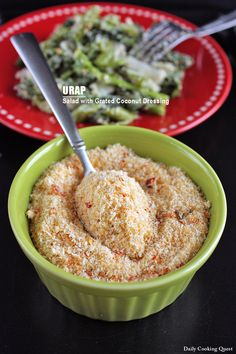 Urap – Salad with Grated Coconut Dressing