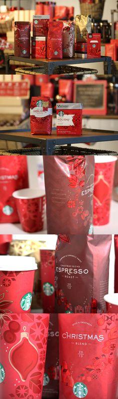 Starbucks Christmas Packaging