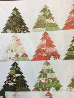 Christmas Tree in strips, from Keepsake Quilting.