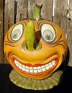 Vintage (???) pumpkin from store display.