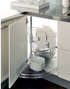 Kitchen-Corner-Cabinets-for-Kitchen-Design - Domicile