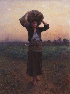 Jules Breton - Shepherd's Star