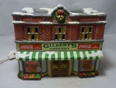 COCA-COLA TOWN SQUARE COLLECTION GILBERT'S GROCERY STORE VILLAGE BUILDING