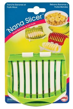Amazon.com: Evriholder Banana & Fruit Slicer: Mandoline: Kitchen & Dining