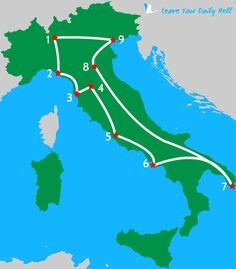 Three Incredible Weeks in Italy - a sample travel itinerary