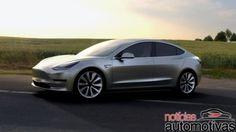"""Tesla Model 3: Dispositivo """"móvel"""" de Elon Musk já tem mais de 232 mil pedidos"""