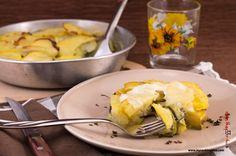 My Cooking Idea. Ricette vegetariane, ricette vegane.: Patate al forno con funghi e zucchine
