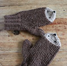 Igelhandschuhe 1 The Effective Pictures We Offer You About Randmaschen Stricken feste A quality pict Knitting For Kids, Baby Knitting Patterns, Knitting Socks, Hand Knitting, Crochet Patterns, Crochet Pullover Pattern, Crochet Gloves Pattern, Knitted Baby Blankets, Knitted Hats