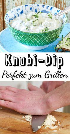 Garlic Dip - the best do-it-yourself recipe DELICIOUS-Knoblauch-Dip – das beste Rezept zum Selbermachen Avocado Dessert, Avocado Toast, Bbq Catering, Garlic Dip, Good Food, Yummy Food, Homemade Salsa, Barbacoa, Evening Meals