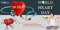 #Healthy Heart your Only Life Line! Happy #WorldHeartDay!!! Keep a Healthy Heart, So We Won't Be Apart Because When Our #Heart is at Ease, Then Our #Body Will be Healthy - Bugraptors.com