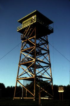 Fire Lookout Towers - Google Search