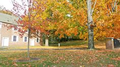 Hudson Valley Fall Scene - Nine Partners Meeting House