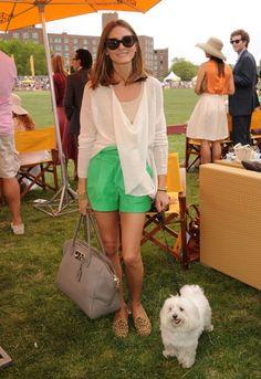 Olivia Palermo Veuve Clicquot Polo Classic June 5 2011