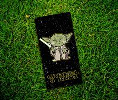 Adesivos Star Wars Yoda Tubetes 8x4cm