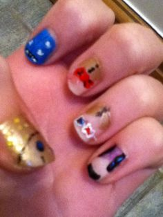 How to Paint Your Nails With a Doctor Who Design