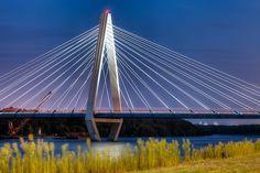 The Kit Bond Bridge over the Missouri River in Kansas City, August 2011 - Eric Bowers Miss Missouri, Kansas City Missouri, Missouri River, Great Places, Places To Visit, City Vibe, Paris City, Need A Vacation, Wonders Of The World