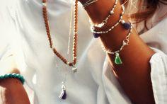 Fine bracelets.