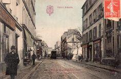 rue de Ménilmontant - Paris 20ème La rue de Ménilmontant vers 1900.