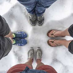 This is our #feettrait on permanent snow in Hardangervidda National Park  I know I wasn't wearing the appropriate shoes for the occasion - the ground is a waterlogged sponge! But eventually I was the only one who had no problem drying!  #sageonearth #airbnb