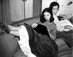 Marisa Pavan et Pier Angeli - 19 juin 1932