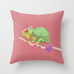 """Chameleon"" Me: Low Poly of a chameleon for style reference Chameleon Eyes, Chameleon Tattoo, Low Poly, Tropical Animals, Polygon Art, Web Design, Sketch Design, Love Illustration, Animal Pillows"