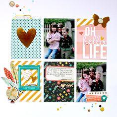 Oh Hello Life - Scrapbook.com