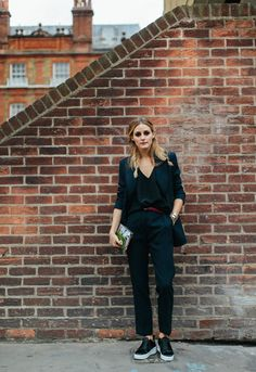 Snapped: Suited Up | Olivia Palermo #oplfwss17