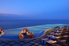 Infinity Pool im Monastero Santa Rosa Hotel & Spa Italien
